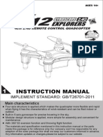 Syma x12 User Manual