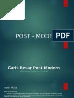 Post - Modernisme