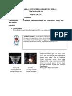Lembar Kerja Siswa Metode Inkuiri Bebas Termodifikasi