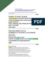 kumpulan makalah politik