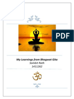 Bhagwat Gita and Learnings