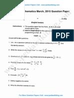 2nd PU Maths March 2015.pdf