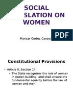 Laws on Women