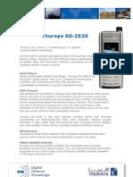 Thuraya SG 2520