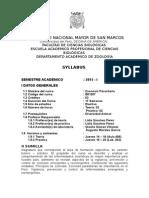 2015-1 Zoonosis Parasitaria Prof. Lidia Sanchez Plan 2003