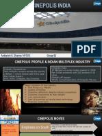 Cinepolis India Presentation
