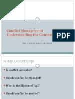 Conflict Intro