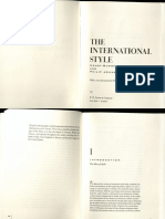 The International Style. part