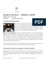 Marco Sfogli Hope Extended