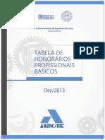 Tabela de Honorários_2013