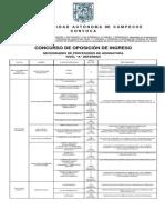 Convocatoria 2015 - 2016 Fase I UAC
