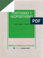 Lopez i Carrera, J. - Positivismo y Neopositivismo Ed, Vicen-Vives