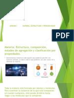 Materia, estructura y periodicidad