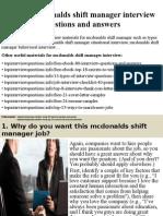 Top10mcdonaldsshiftmanagerinterviewquestionsandanswers 150320205700 Conversion Gate01