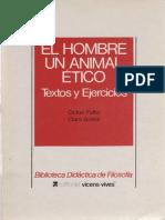 Fullat, O. - El Hombre Un Animal Ético. Textos y Ejercicios Ed, Vicen-Vives