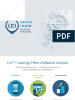 LCI Sample Report