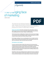 The Changing Face of Marketing