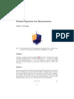 Electrostatic Poisson Cube Solution