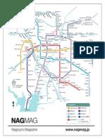 Nagoya Subway Map Pdf.English Nagoya Living Guide Emergency Evacuation Taxes