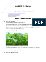 Varietas Tumbuhan Dan Tanaman Isi