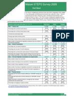 2009 Malawi FactSheet En