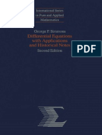 George F. Simmons-Differential Equations With Applications and Historical Notes (2nd Edition)-McGraw-Hill (1991)