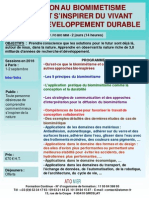 Formation Continue Biomimetisme Comment Inspirer Du Vivant Developpement Durable