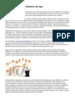 Dos s?ntomas de la Diabetes de tipo