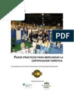 Manual N 3 - Pasos Practicos Para Mercadear La Certificacion Turistica