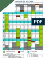 Calendário Escolar 15-16