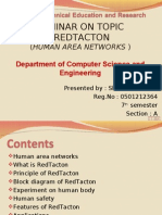 Seminar on Topic Redtacton
