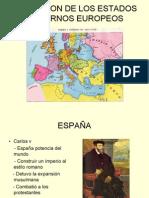 Formacion de Los Estados Modernos Europeos Hist 3ro