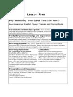 secondary lesson plans