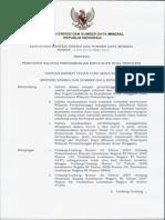 Keputusan Menteri ESDM Nomor 1329 Tahun 2014 Penetapan WP Kepulauan Nusa Tenggara