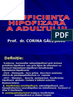 Insuficienţa Hipofizară a Adultului Ian 2012