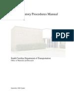 OMR Lab. Procedures Manual