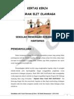 Kertas Kerja Program Elit Olahraga