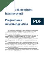 Invatati Sa Dominati Interlocutorii - Programarea Neuro