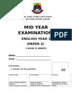 Muka Mid Year Examination