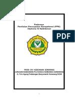 Pedoman PPK DIV Kebidanan Juni 2014.doc