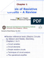 Ch01 Analysis of Resistive Circuits - Review