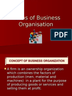 Business Organisations Forms Ppt