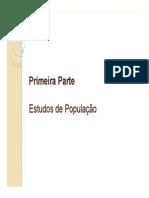 Demografia e Populacao Brasileira