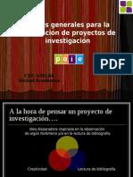 Pautas Presentacion Proyectos Paie