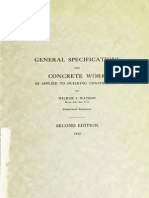 Concret Specification