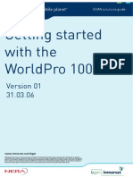 Getting Started With the WorldPro 1000