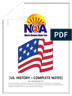 NOA History of USA-Complete Notes
