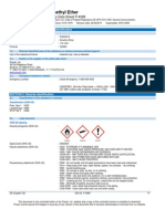 Dimethyl Ether C2H6O Safety Data Sheet SDS P4589