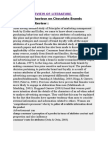 Review of Literature of Cbocb