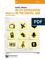 Freedom of Expression Rights